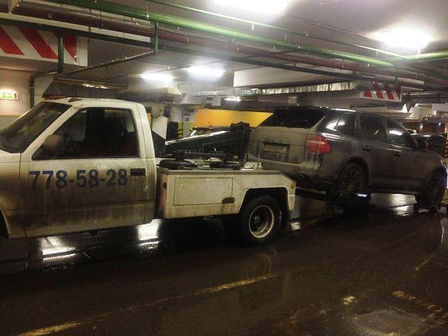 эвакуация с подземных паркингов