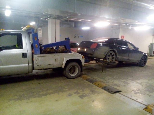 эвакуатор с парковки